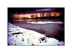 Niederrheinphotos-Altrhein im Winter