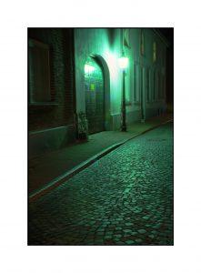 Grieth-Straßenlaterne