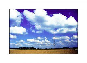 Wolken über dem Fernsehturm